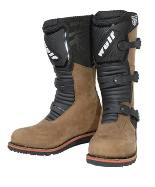 Wulfsport Trials Adult Boots Black/Brown