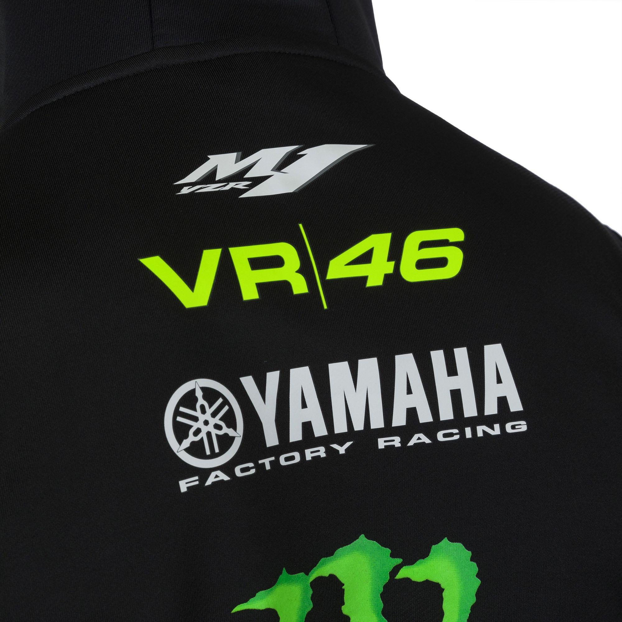 Yamaha VR46 Rossi Replica Black Hoody