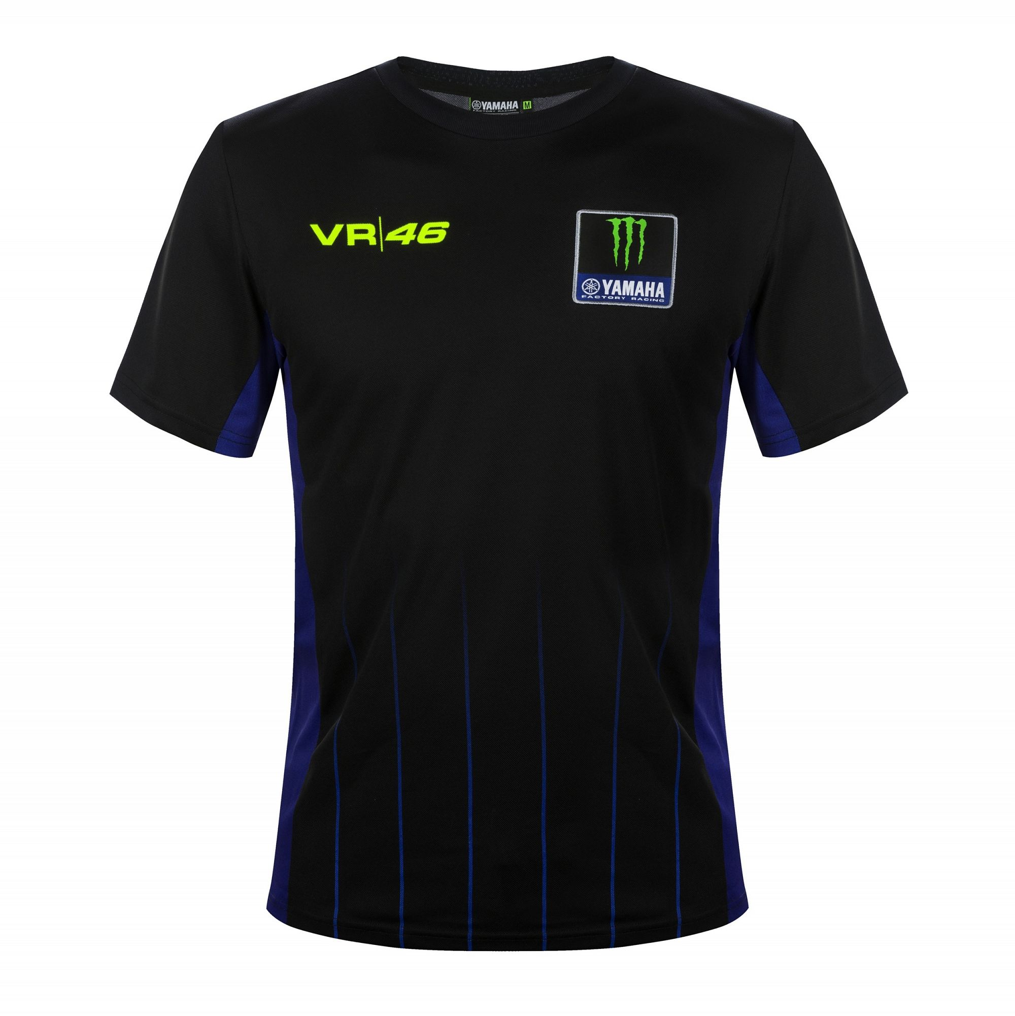 Yamaha VR46 Rossi Mens Black T-Shirt