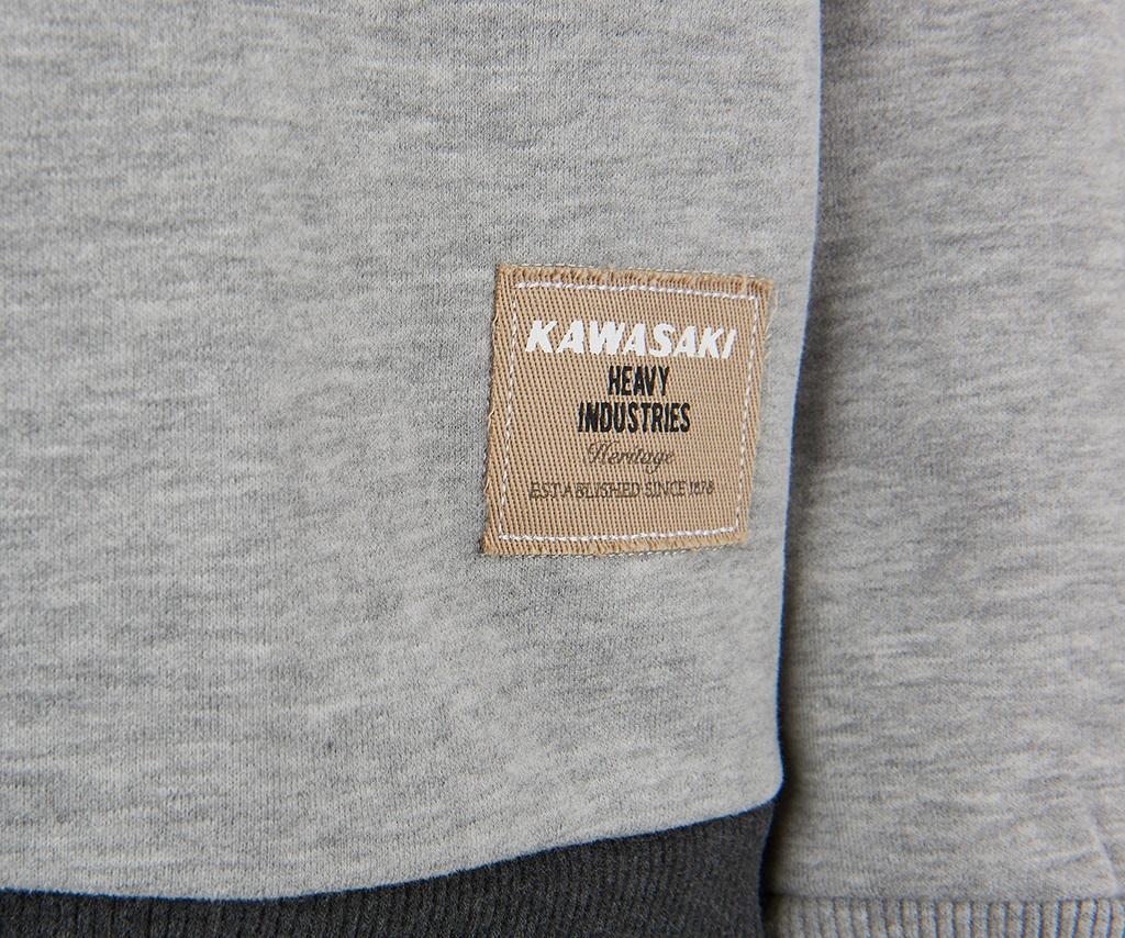 Kawasaki DOHC Sweatshirt - Grey