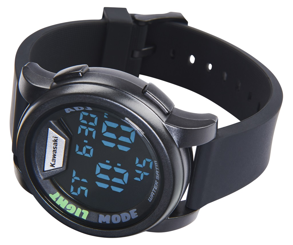 Kawasaki Digital Watch Black