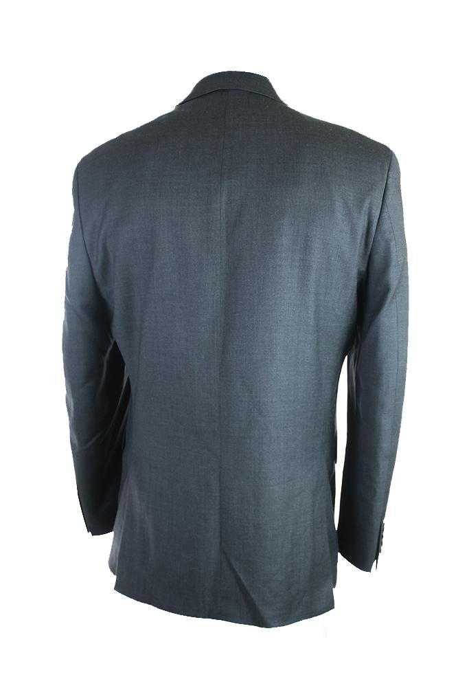 Alfani Mens Midnight Pinpoint Slim Fit Jacket S
