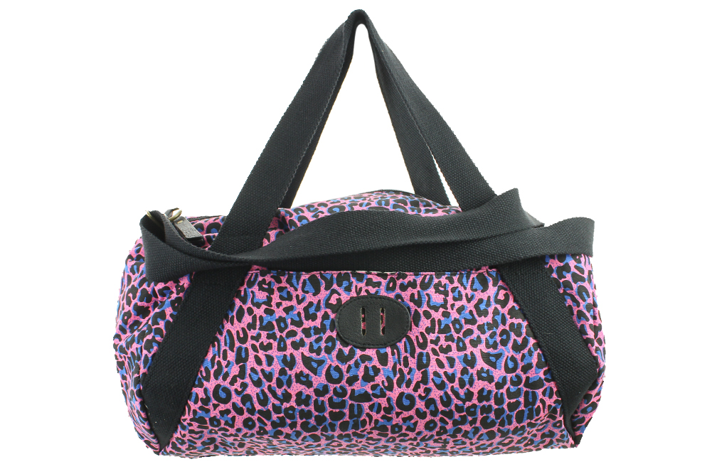 dae4dc6b55da Madden Girl New Pink Leopard Canvas Duffle Bag Osfa  54 762670251570 ...
