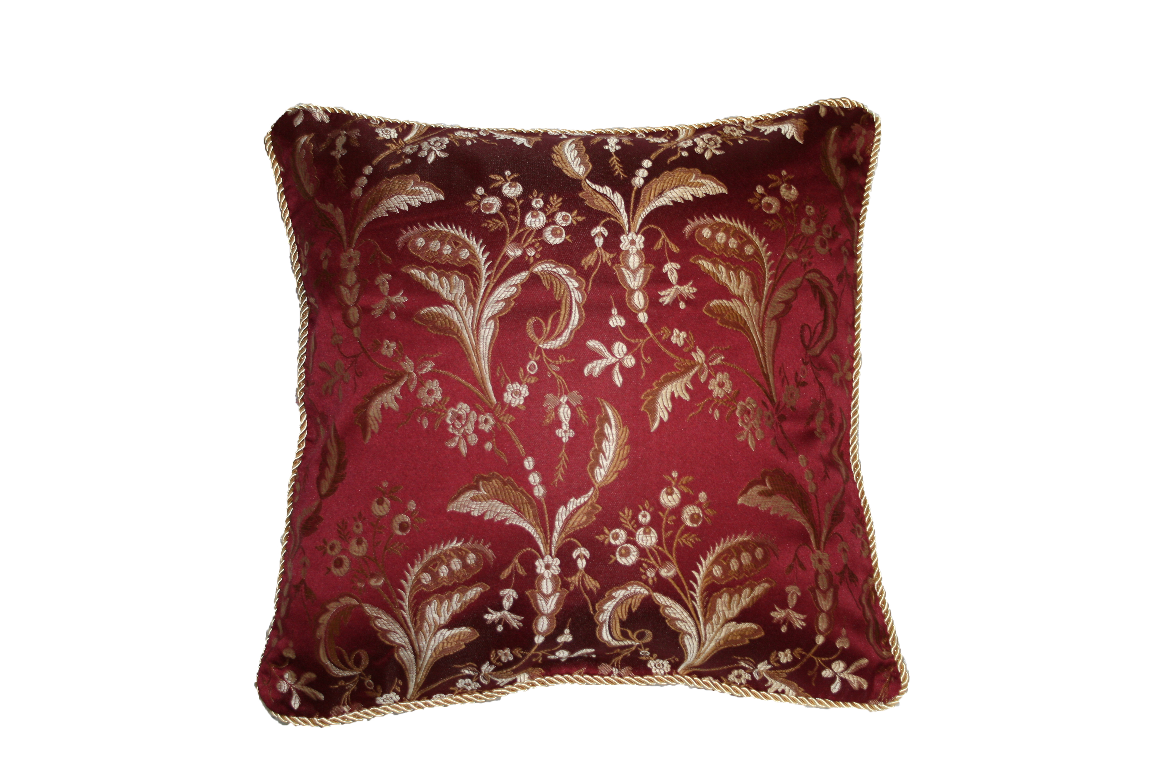 Luxury Damask Design Decorative Throw Pillow
