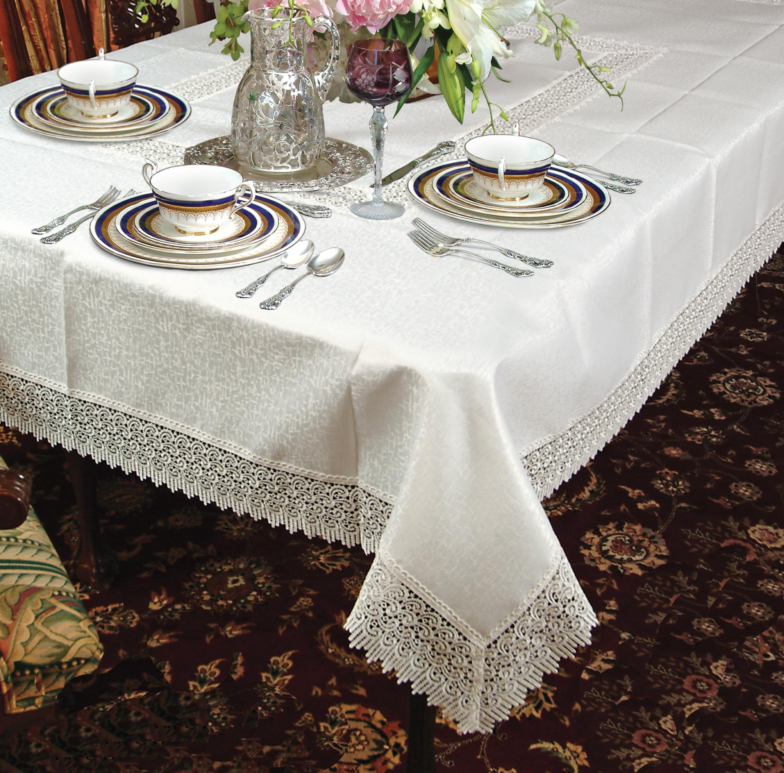 Treasure Lace Tablecloth Ebay