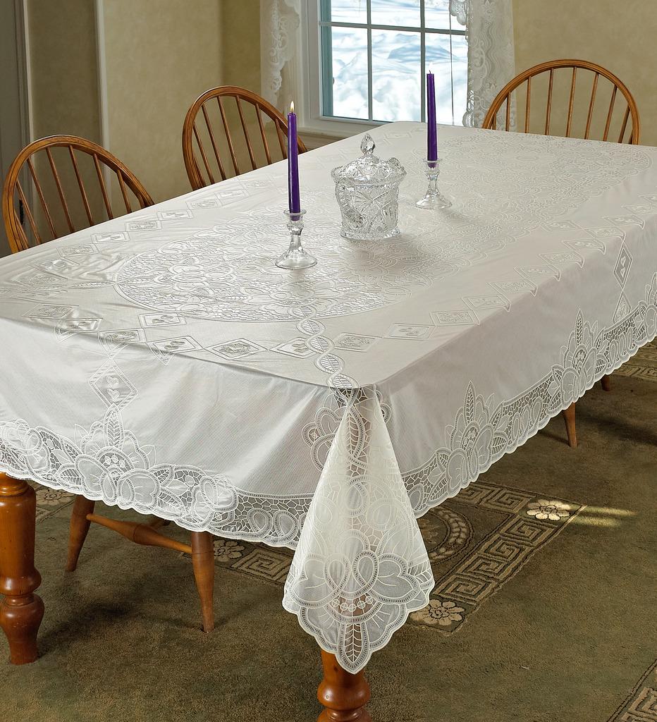 Vinyl Lace Betenburg Design Tablecloth Ebay