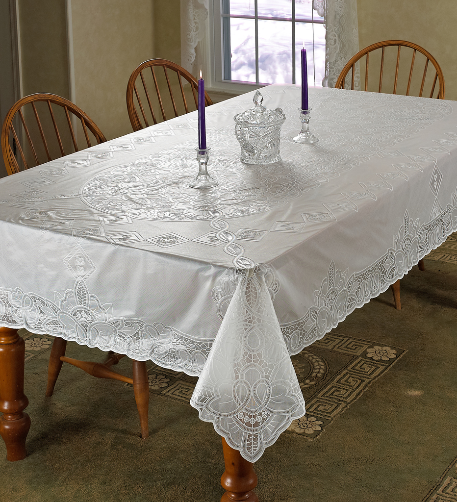 Vinyl Lace Betenburg Design Tablecloth Ebay
