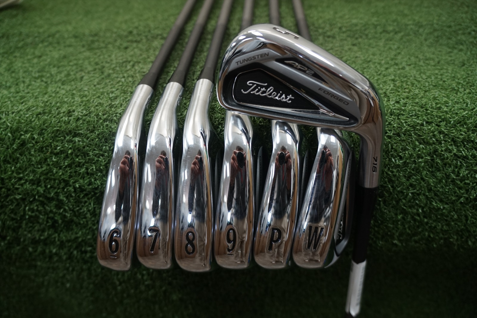 Titleist AP2 716 Forged 5 PW AW Irons Accra Graphite Stiff
