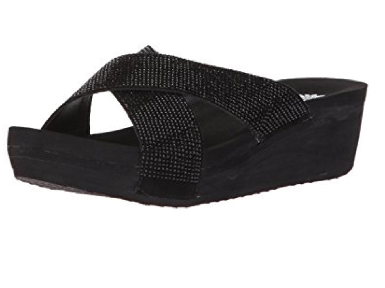 53591081b2561 Yellow Box Women s Maxima Black Jeweled Strappy Sandals 35514
