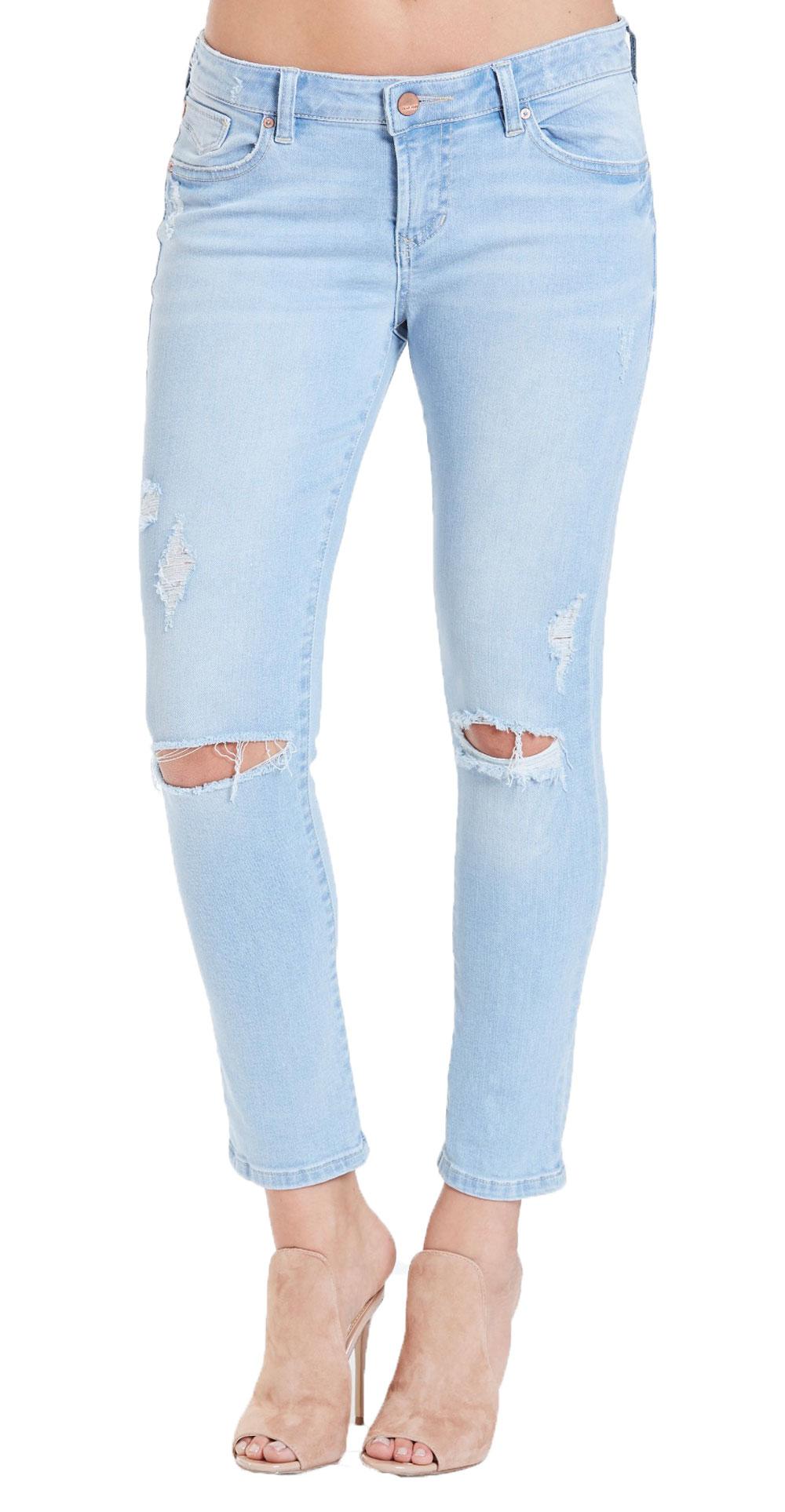 1d90001a5d117 Dear John Women s Gisele Getaway Crop Skinny Jeans