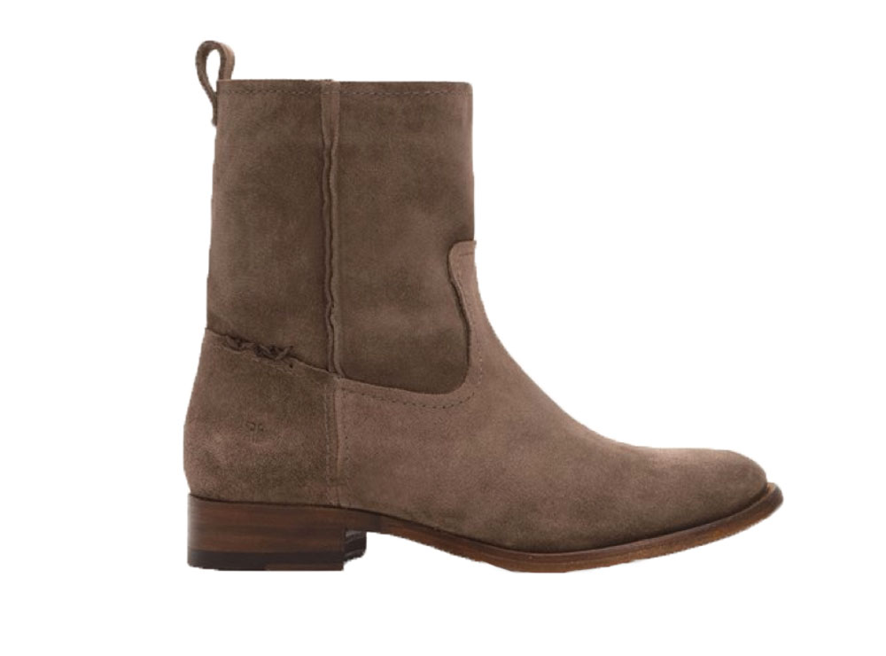 s frye cara elephant grey suede leather boots