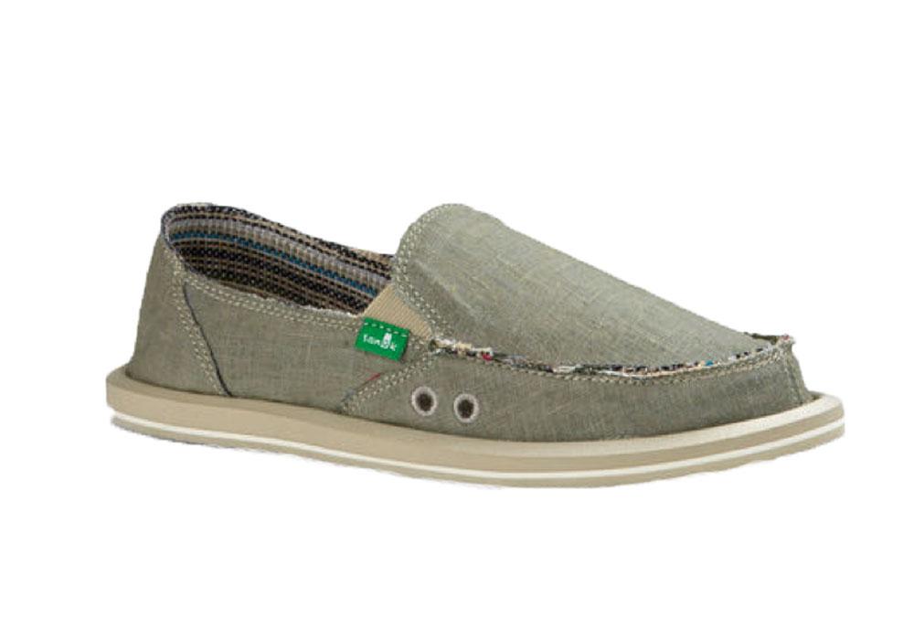 Sanuk Damens's Damenschuhe Damenschuhe Damens's Hemp Olive Grau Sidewalk Surfers     d4f34b
