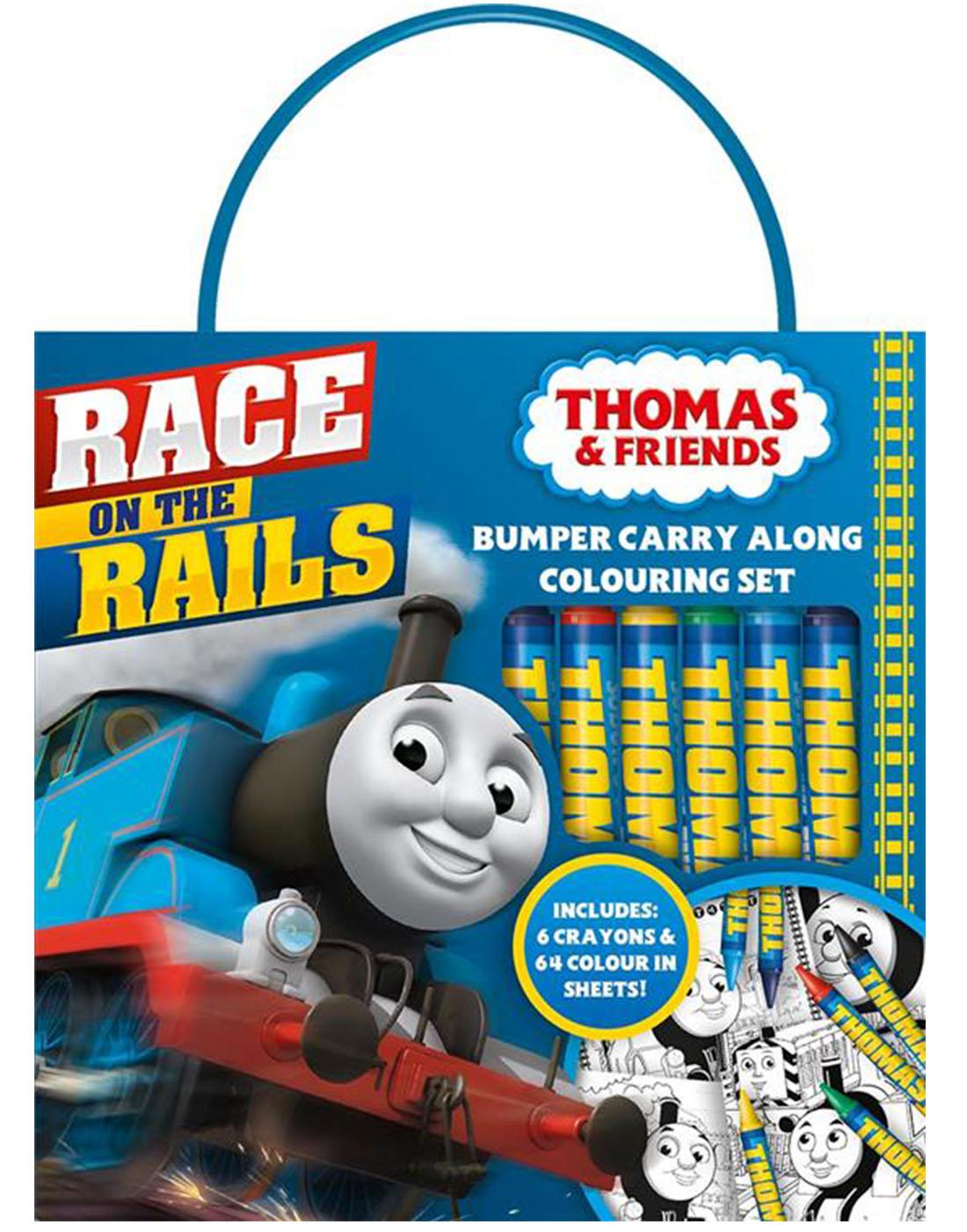 Thomas y sus amigos Parachoques Para Llevar SET PARA COLOREAR Viaje ...