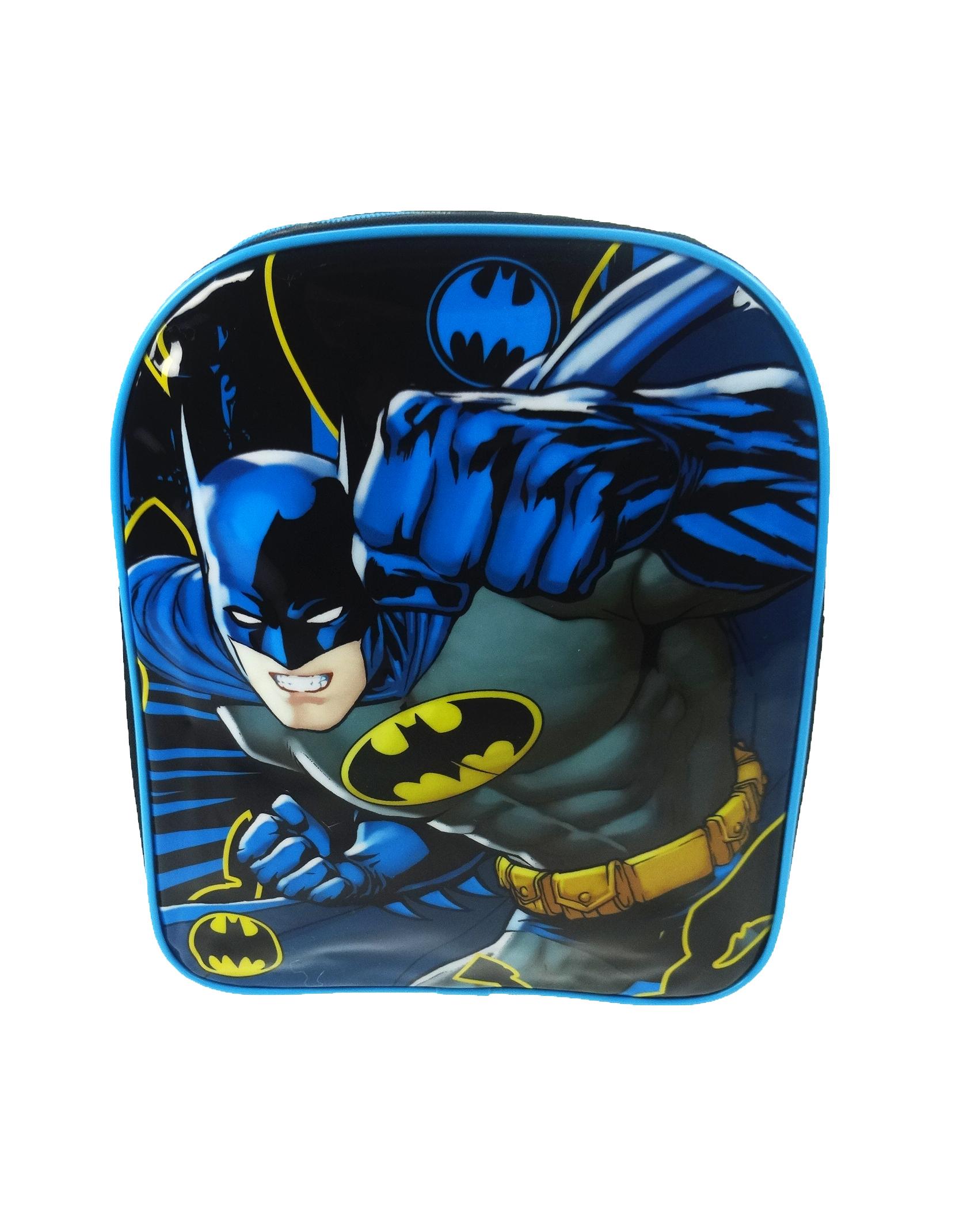 dc comics superheld batman rucksack schultasche rucksack kinder kinder ebay. Black Bedroom Furniture Sets. Home Design Ideas