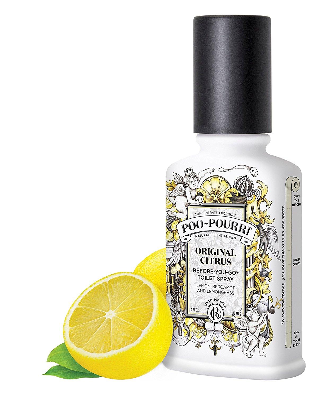 Poo Pourri Before You Go Toilet Odour Spray Freshener 2oz ...