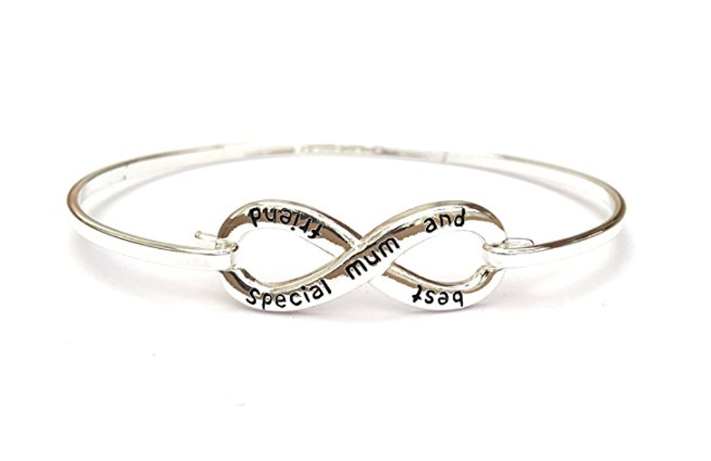 Equilibrium-Silver-Plated-Sentimental-Message-Bracelet-Bangle-Friend-Gift-Box thumbnail 11