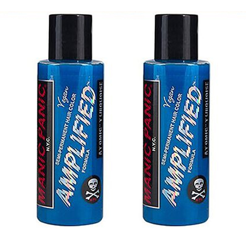 2-x-Manic-Panic-Amplified-Semi-Permanent-Hair-Color-Various-Colours-118ml thumbnail 6