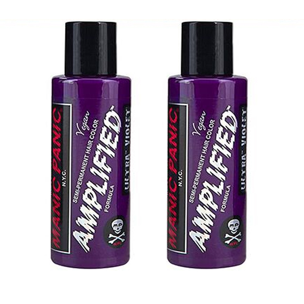 2-x-Manic-Panic-Amplified-Semi-Permanent-Hair-Color-Various-Colours-118ml thumbnail 57