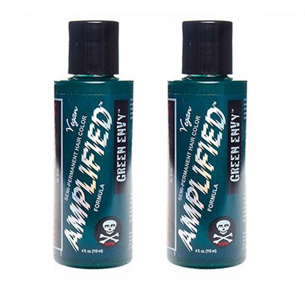 2-x-Manic-Panic-Amplified-Semi-Permanent-Hair-Color-Various-Colours-118ml thumbnail 30