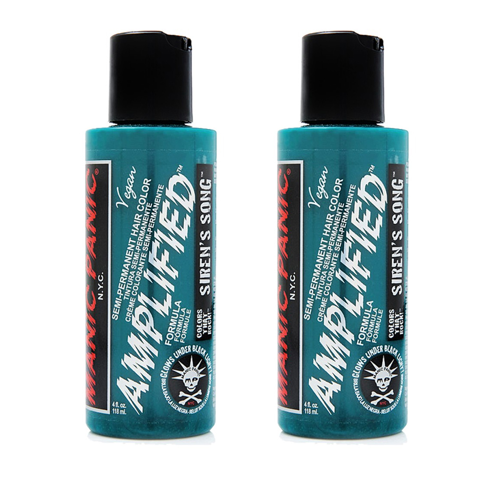 2-x-Manic-Panic-Amplified-Semi-Permanent-Hair-Color-Various-Colours-118ml thumbnail 54