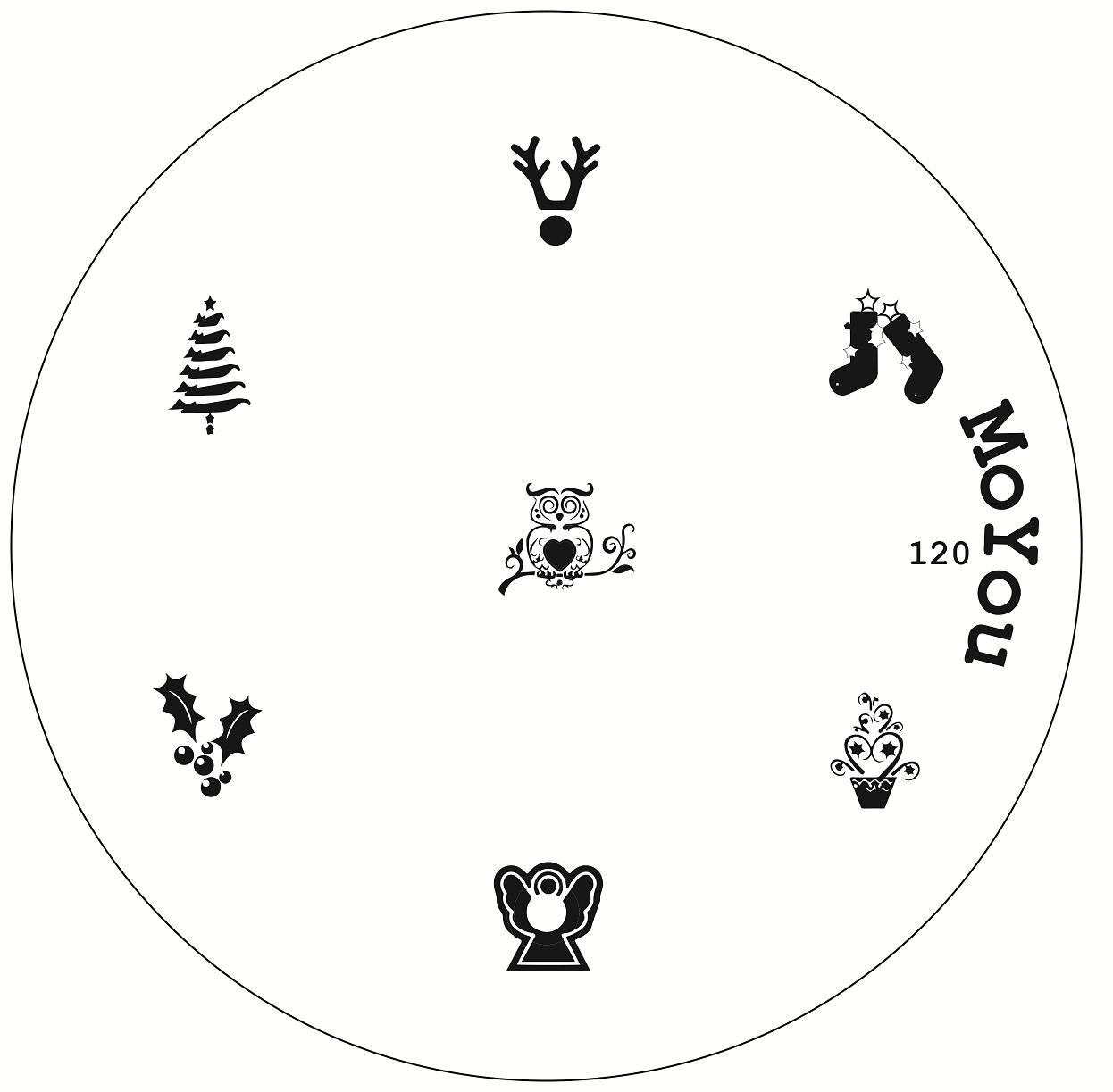 Original moyou nail art image stamp stamping plate manicure design original moyou nail art image stamp stamping plate prinsesfo Choice Image