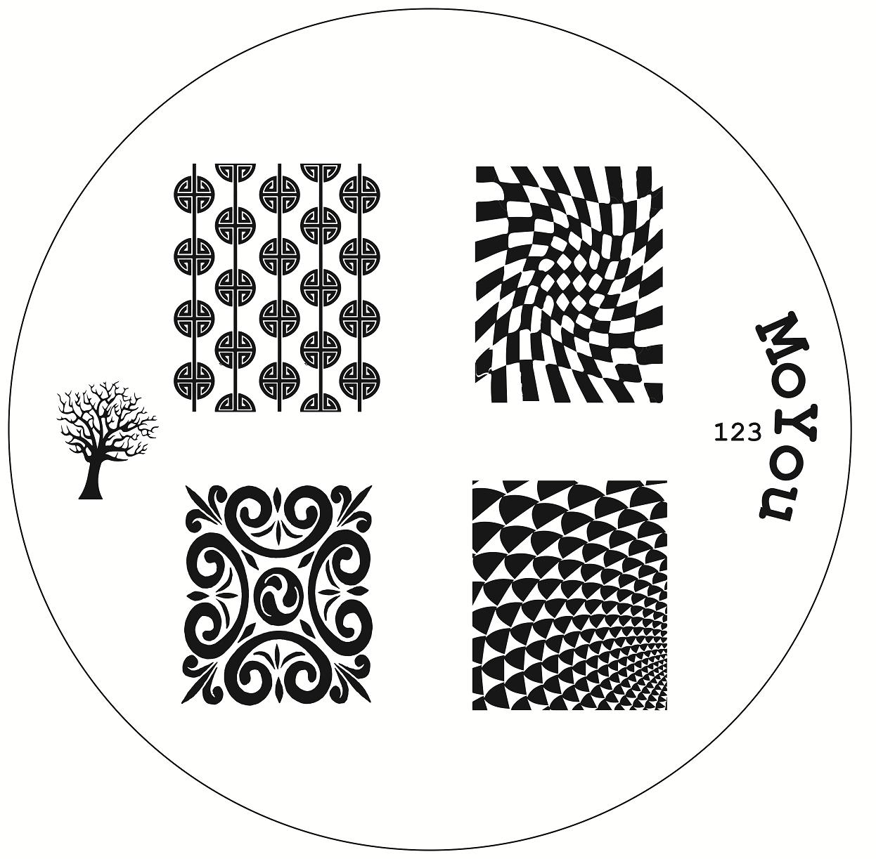 Original MoYou Nail Art Image Stamp Stamping Plate Manicure Design ...