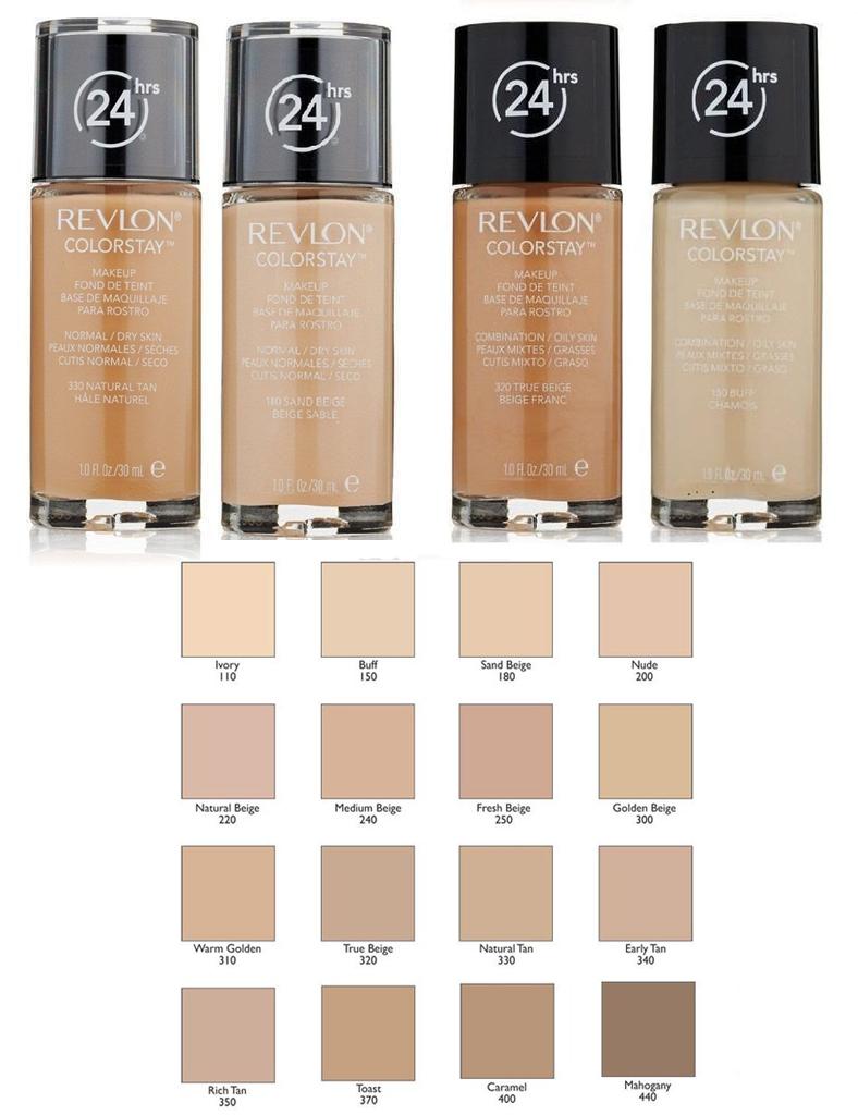 Revlon Colorstay Make Up Foundation 30ml Combination