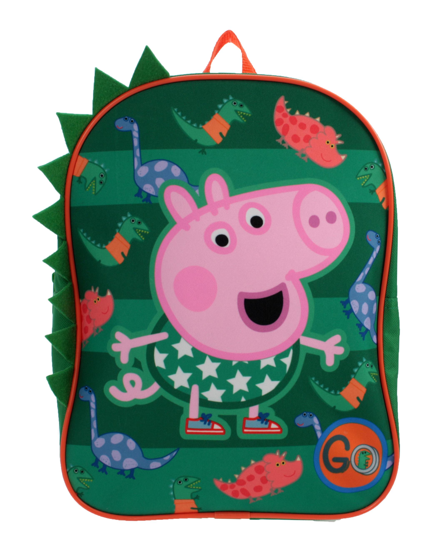 Toddler Kids Peppa Pig Cartoon Backpack Schoolbag Preschool Small Shoulder Bag