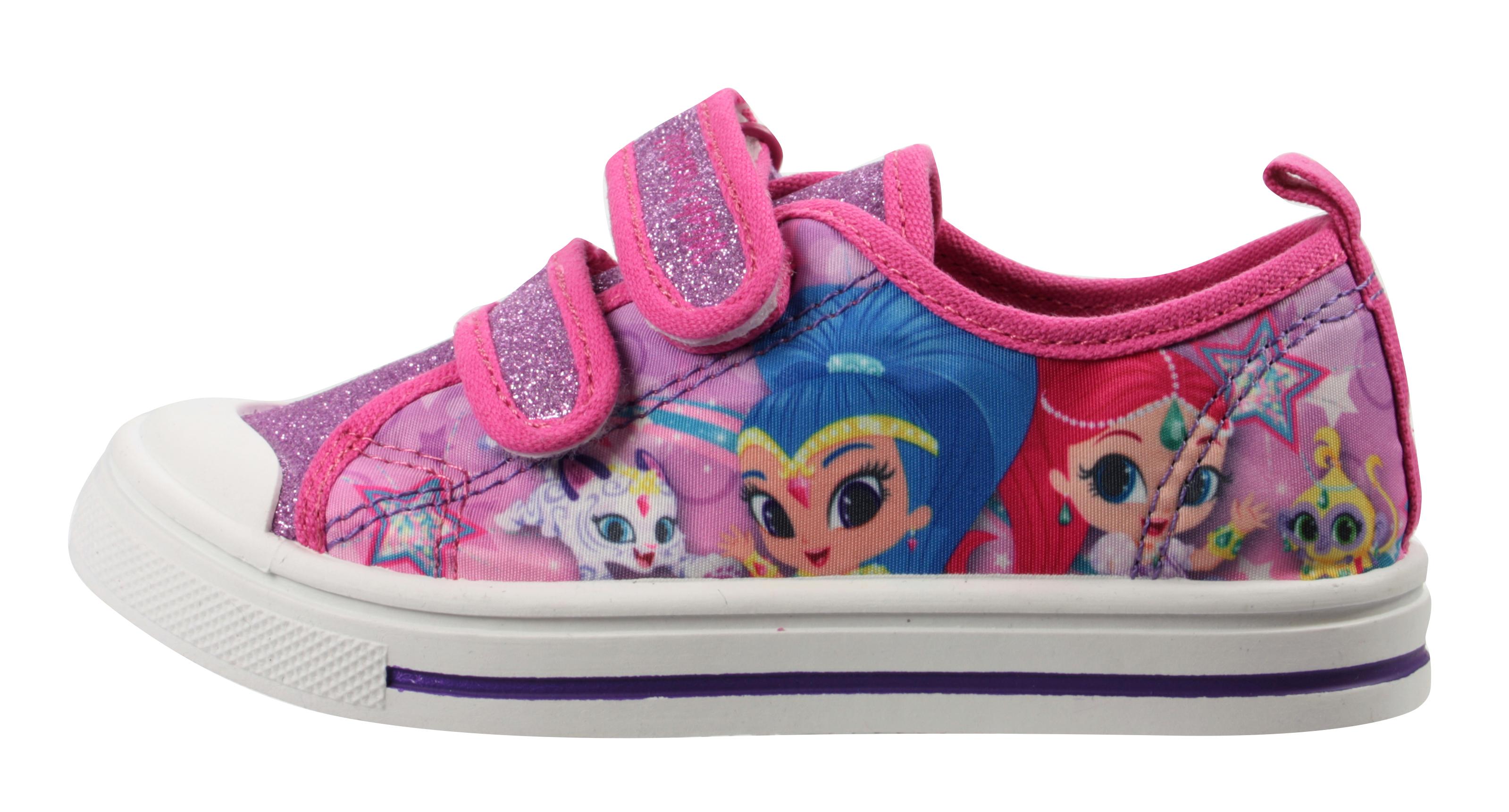 Peppa Pig Filles Paillettes Rose Low Top Pantoufles UK Tailles enfant 5-10