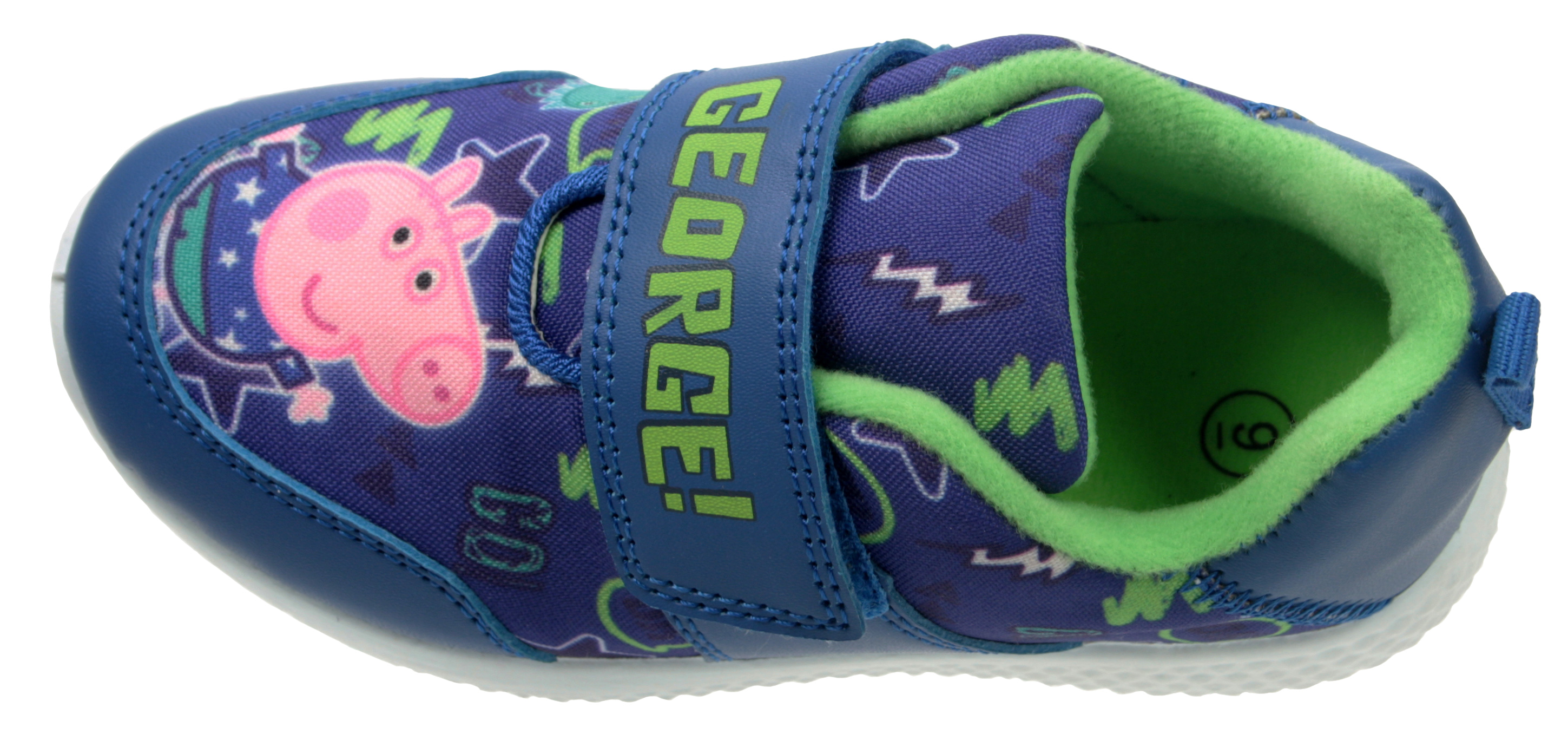Peppa Pig Boys  George Will Be Boys Trainer Shoe