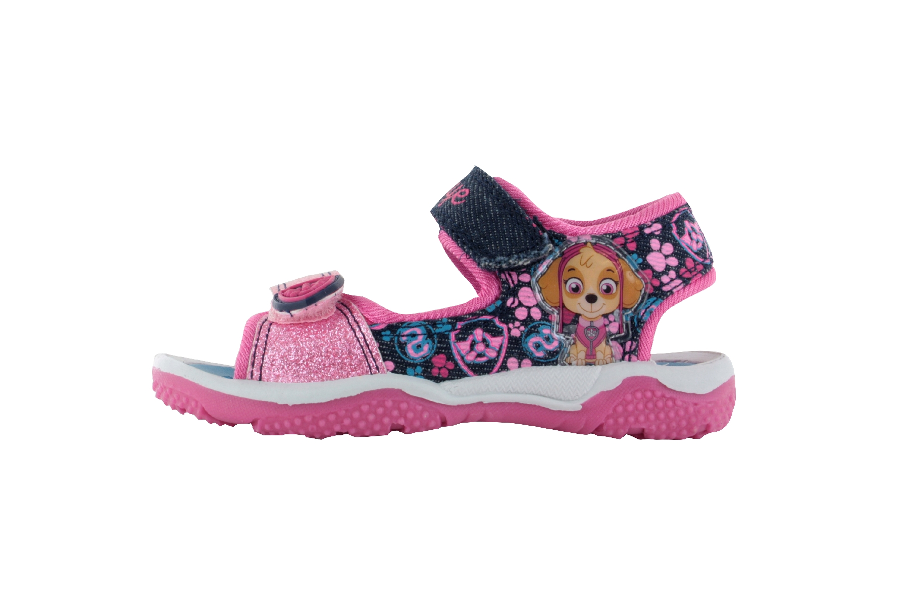 Paw Patrol Skye Open Toe Beach Holiday Summer Adjustable Sandals Various Sizes