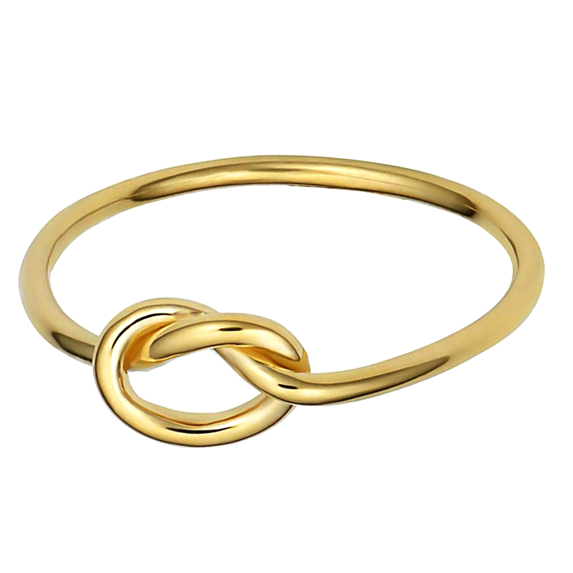 Rose White or Yellow Gold bridesmaids Ring Love Knot 14k Gold Stacking Ring 14k 18k Solid Gold Knot Ring Dainty Tie The Knot Ring