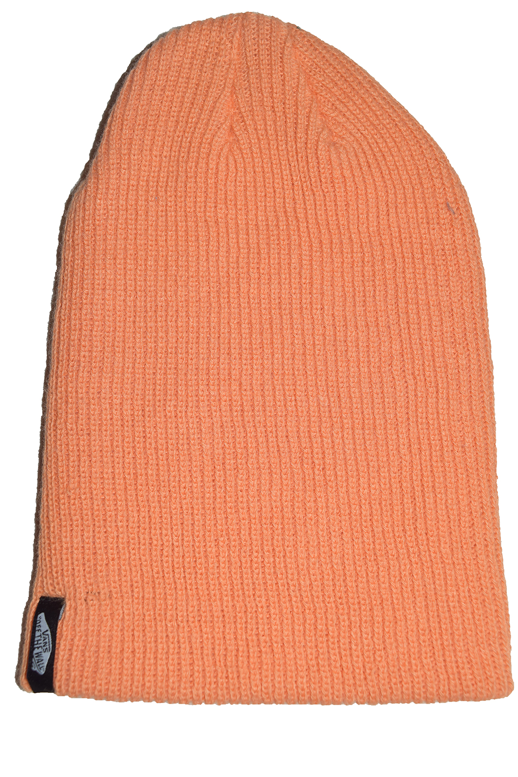 VANS off The Wall Mismoedig Beanie Orange Cuff Hat Cap 100 Acrylic ... 88e3feab795