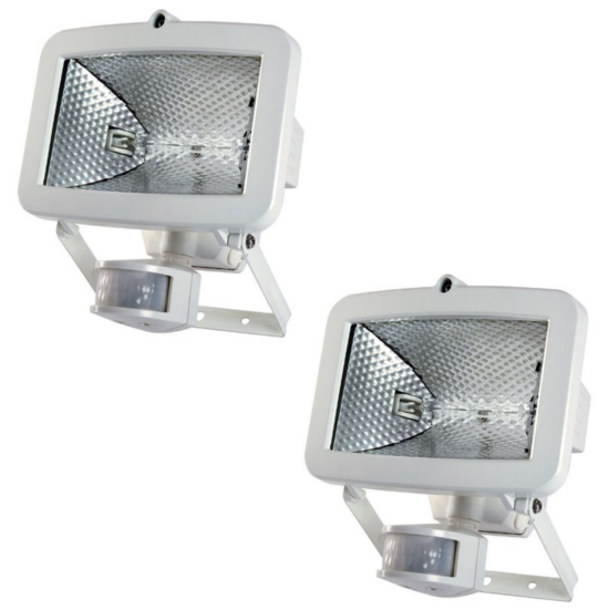 Timeguard slw400g pir security floodlight 400w halogen white ebay picture 2 of 2 aloadofball Choice Image