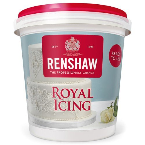 Renshaw Ready Made Royal Icing For Cakes Cupcakes Spread
