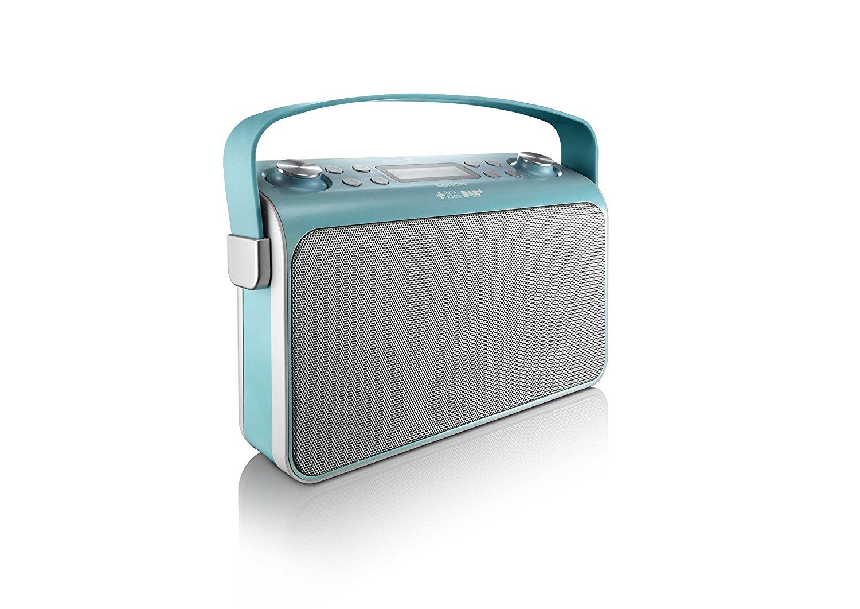 lenco blau lucille retro fm dab digital radio mit. Black Bedroom Furniture Sets. Home Design Ideas