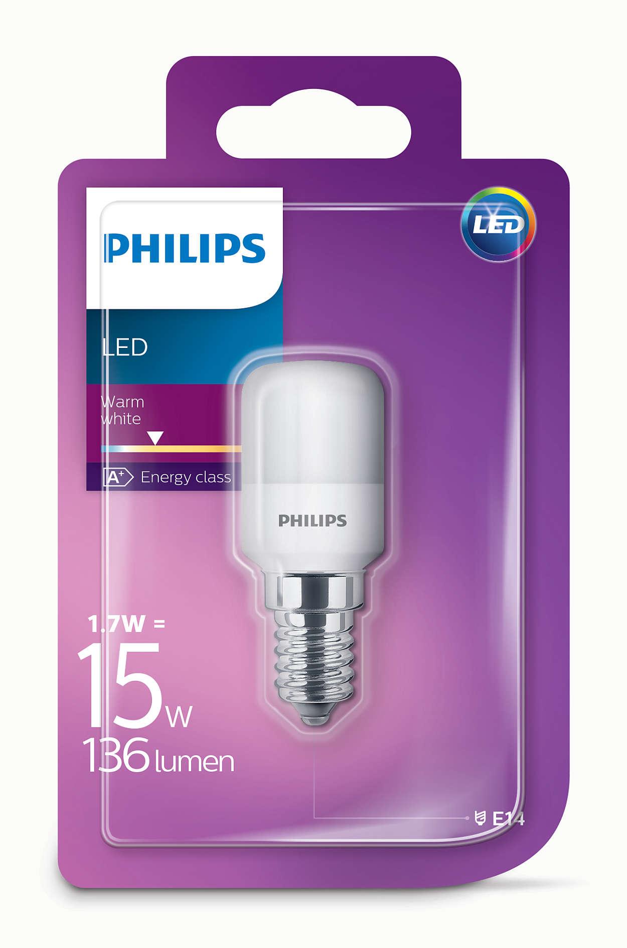 philips led t25 frosted e14 edison screw 15w appliance fridge light bulb 136lm ebay. Black Bedroom Furniture Sets. Home Design Ideas