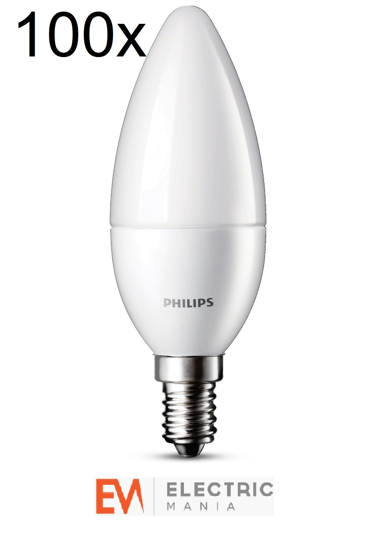 High Quality Image Is Loading 100x Philips LED Candle House Light Bulb Lamp