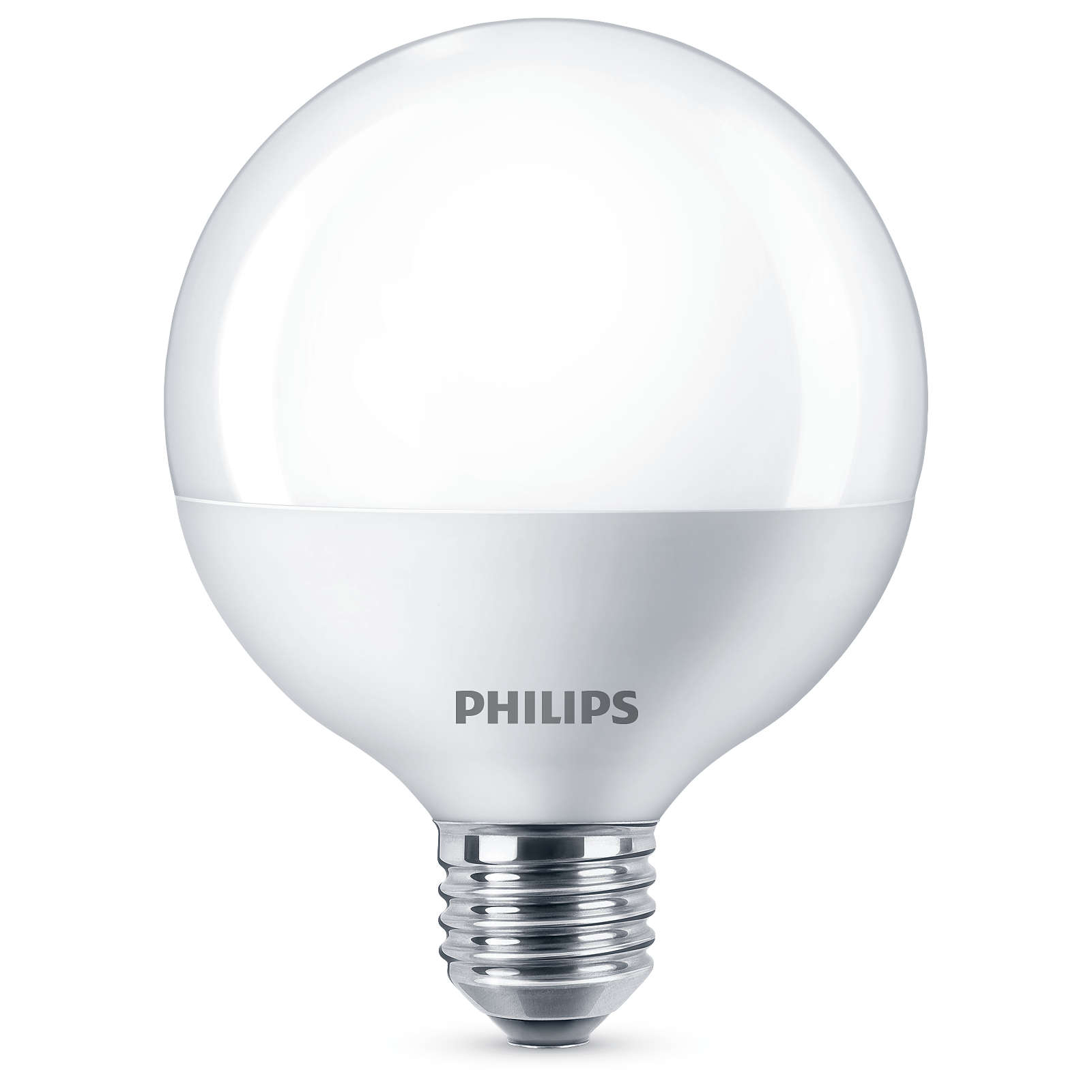 philips led globe 60w g93 frosted e27 edison screw light bulb 806lm warm white ebay. Black Bedroom Furniture Sets. Home Design Ideas