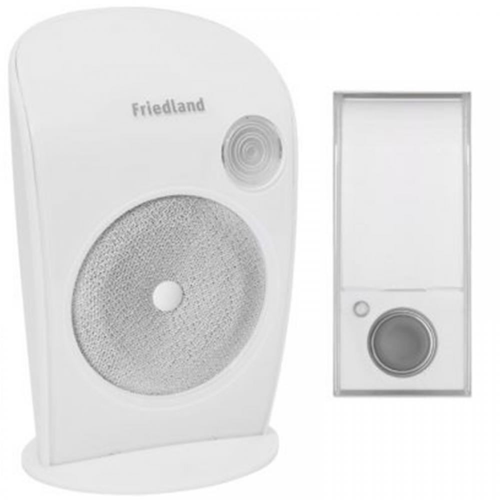 Friedland D3007s Wirefree Portable Door Bell Doorbell Chime Kit Ebay Wiring A
