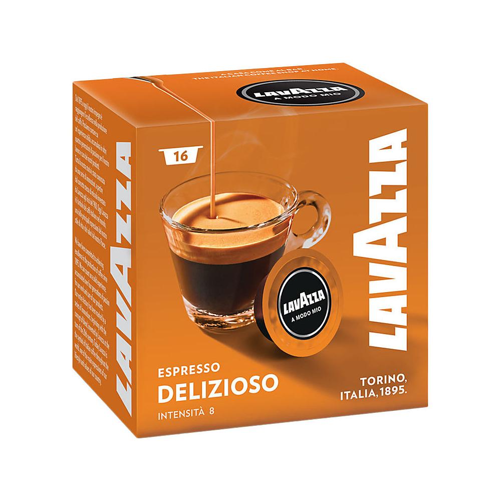 Lavazza A Modo Mio Coffee Machine Pods 16 Capsules