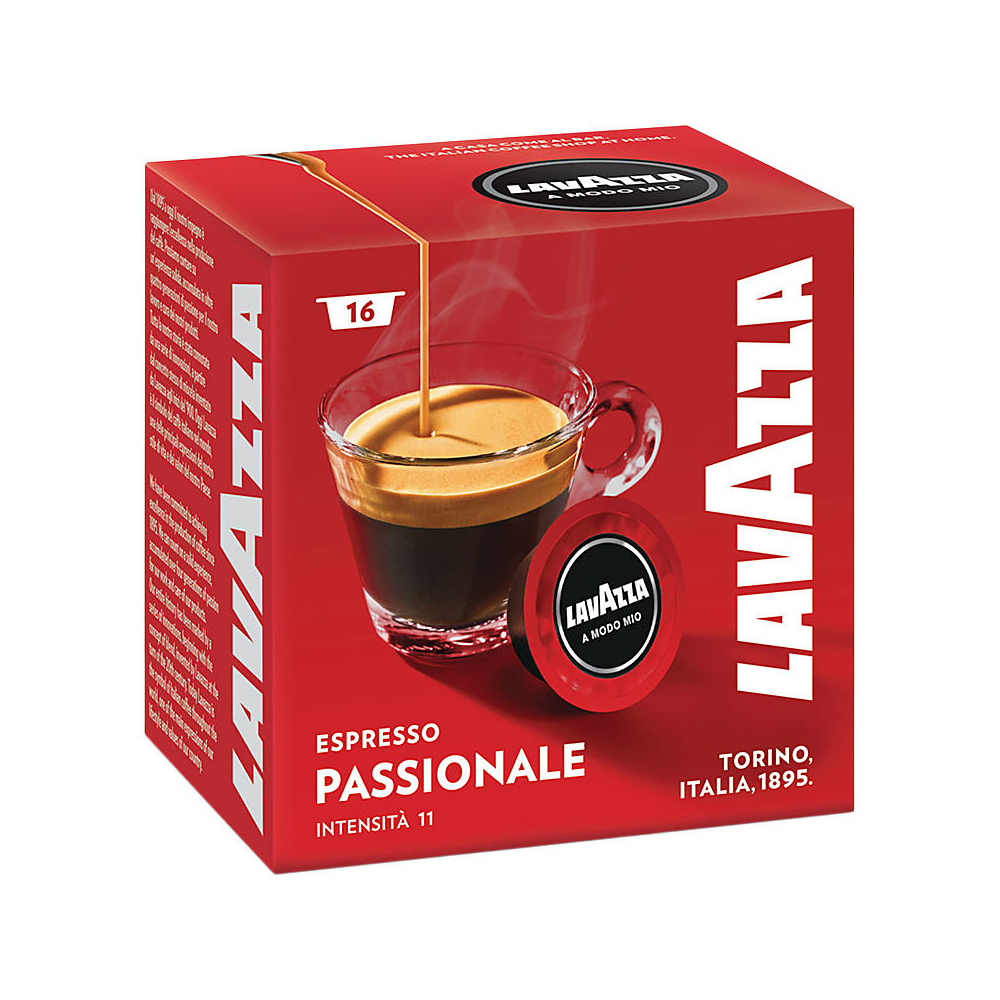 lavazza a modo mio coffee machine pods 16 capsules. Black Bedroom Furniture Sets. Home Design Ideas