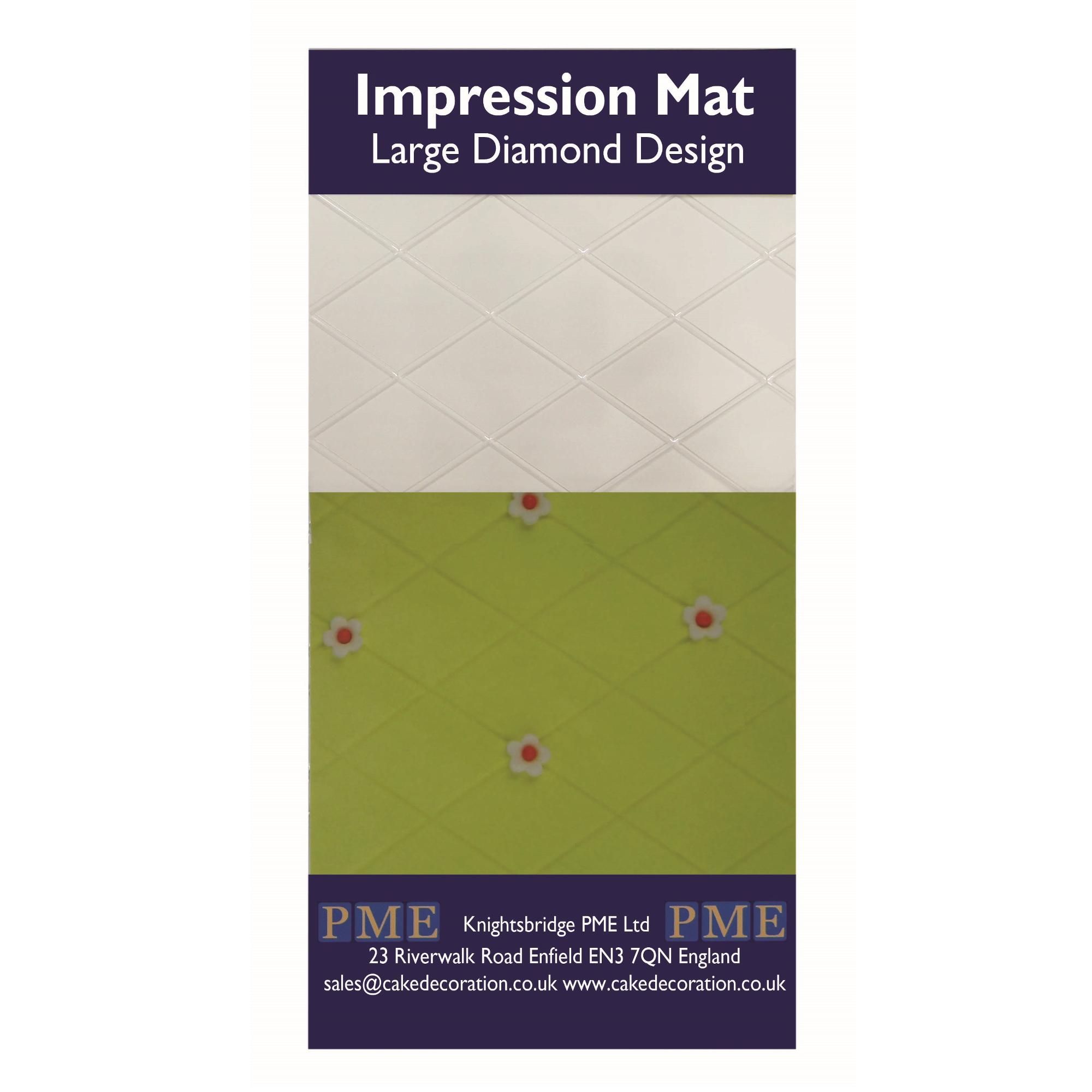 PME Icing Fondant Impression Imprint Mat Sugarcraft Candy Cake Decorating Mould