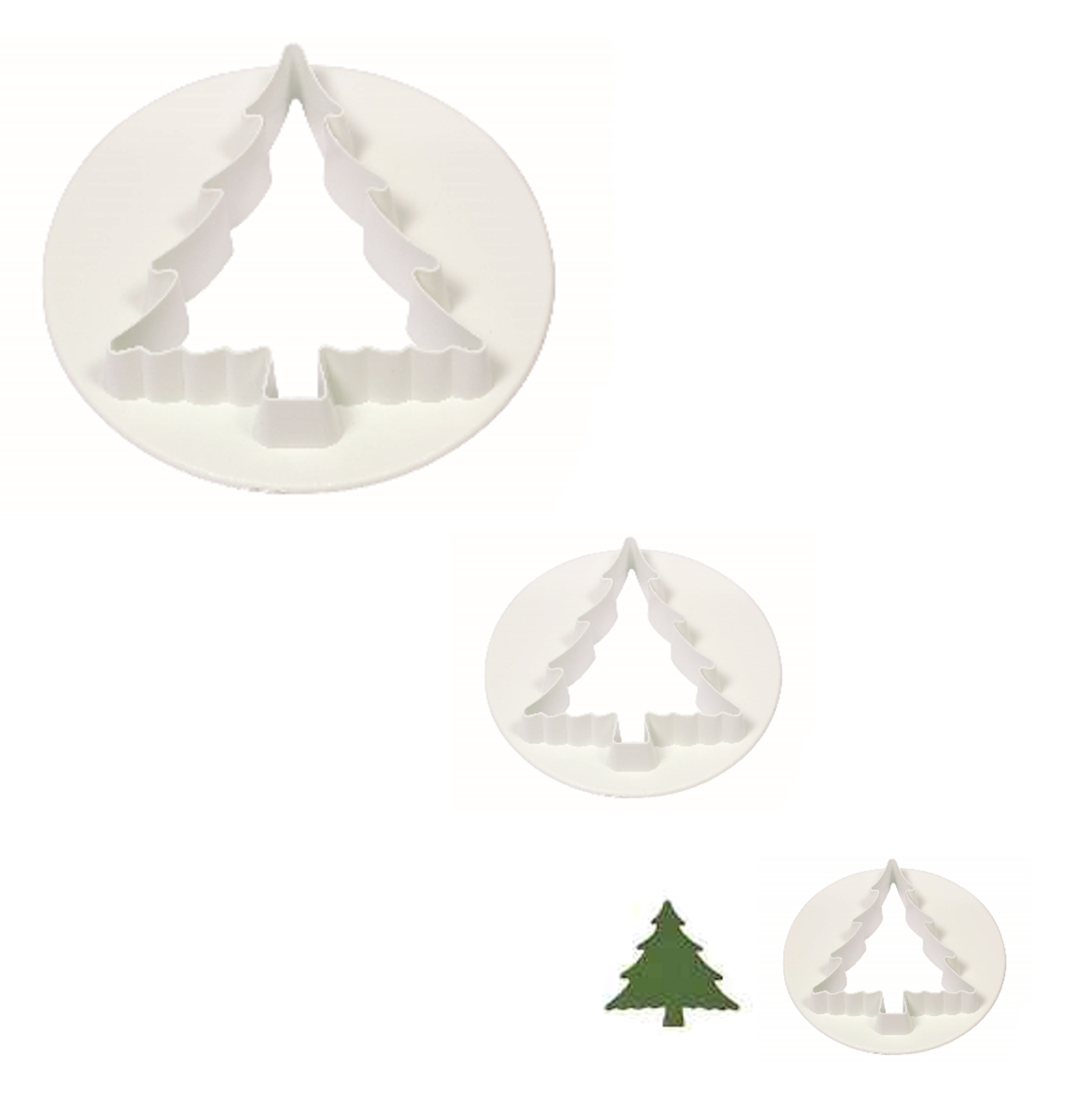 Christmas Tree Cutout.Details About Pme Christmas Tree Plastic Icing Cutout Cutter Sugarcraft Cake Decorating Tool