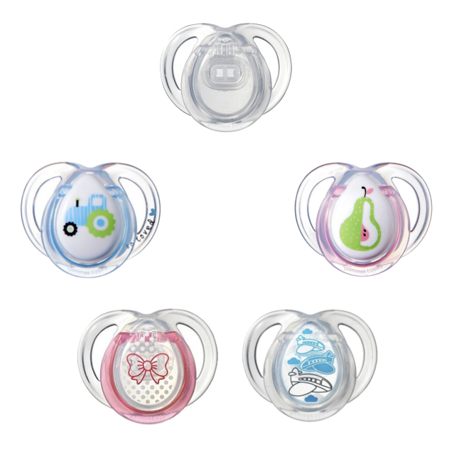 Pacifier Baby Soother Orthodontic BPA FREE Soothers 6-18 Months Dummy