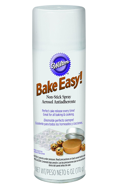 Wilton Bake Easy Non Stick Spray Perfect Cake Release