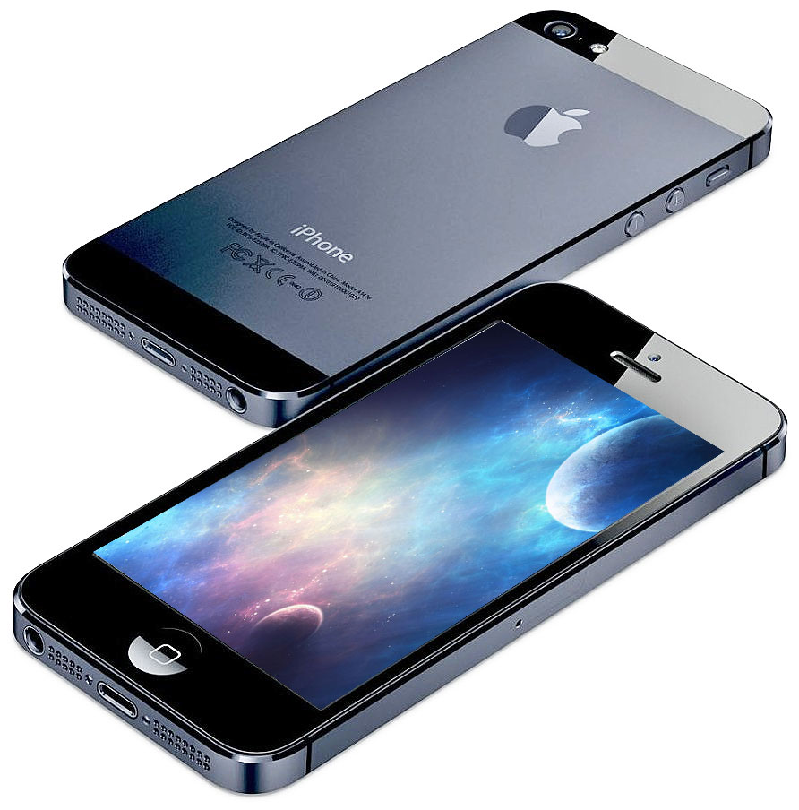 refurbished apple iphone 5 16gb black at t tanga. Black Bedroom Furniture Sets. Home Design Ideas