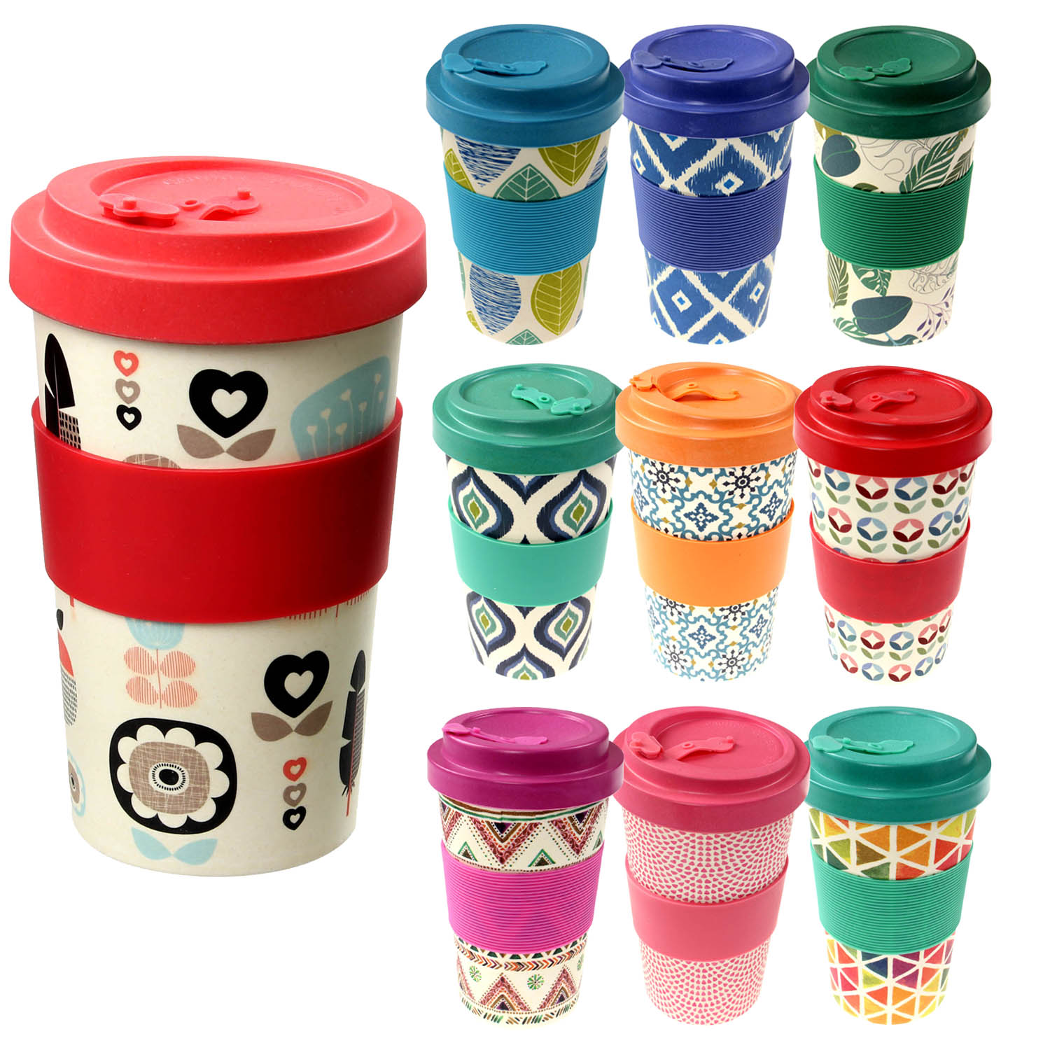 Home Furniture Diy Vacuum Flasks Mugs Reusable Bamboo Fibre Coffee Cups Eco Friendly Thermal Insulated Travel Mug Lid Bortexgroup Com