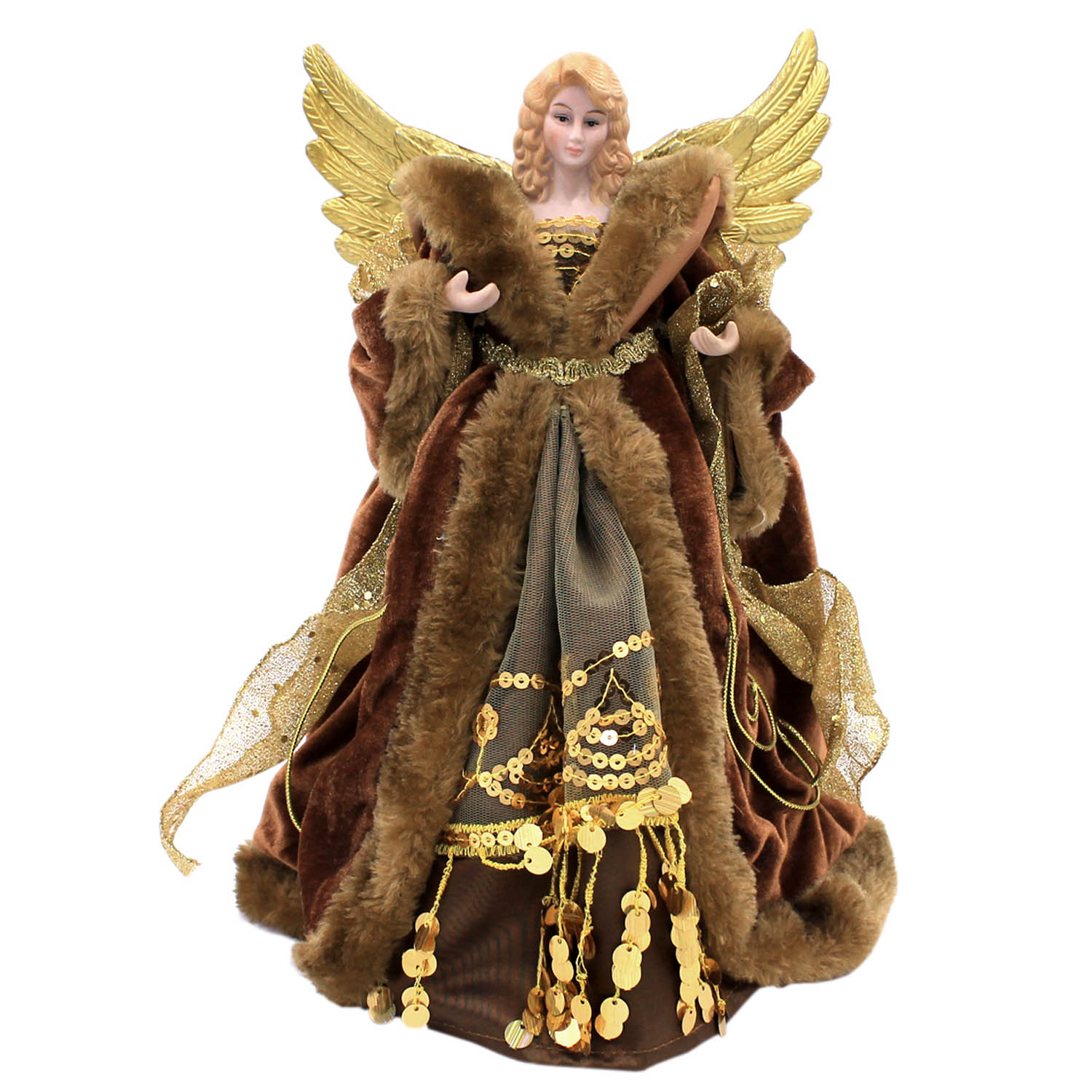 Angel Christmas Tree Topper.Details About Christmas Tree Topper Traditional Fairy Angel Xmas Tree Top Ornament Decoration
