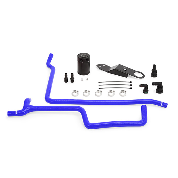 Details about Mishimoto Cadillac ATS 2 0T Baffled Oil Catch Can, CCV Side,  2013+, Blue